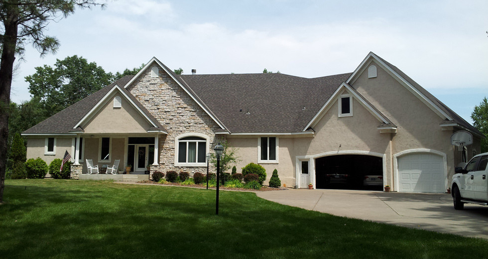 This Homeowner Selected The Tamko Heritage Series Architectural Shingle In Natural Timber Color